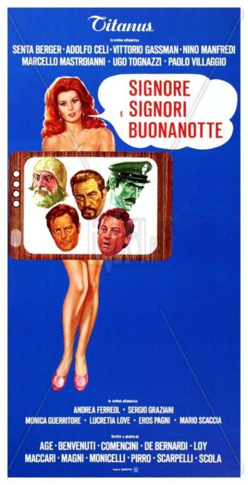 Signore, signori, buonanotte (1976, L. Comencini, N. Loy, L. Magni, M. Monicelli, E. Scola)
