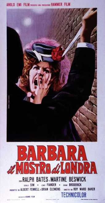Barbara, il mostro di Londra (Dr. Jekyll & Sister Hyde, 1971, R.W. Baker)