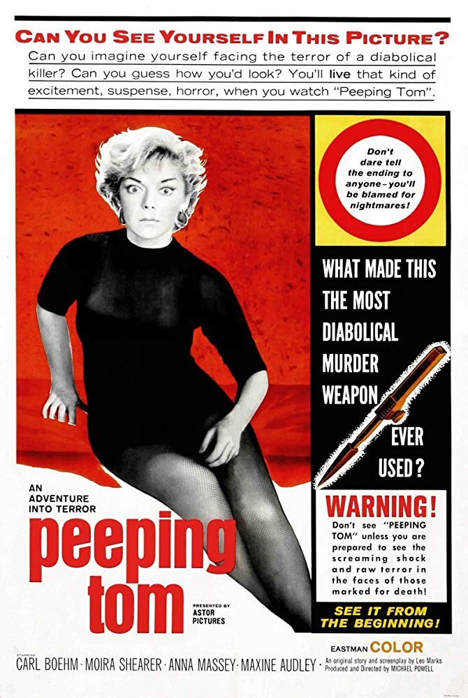 L'occhio che uccide (Peeping Tom, 1960, M. Powell)