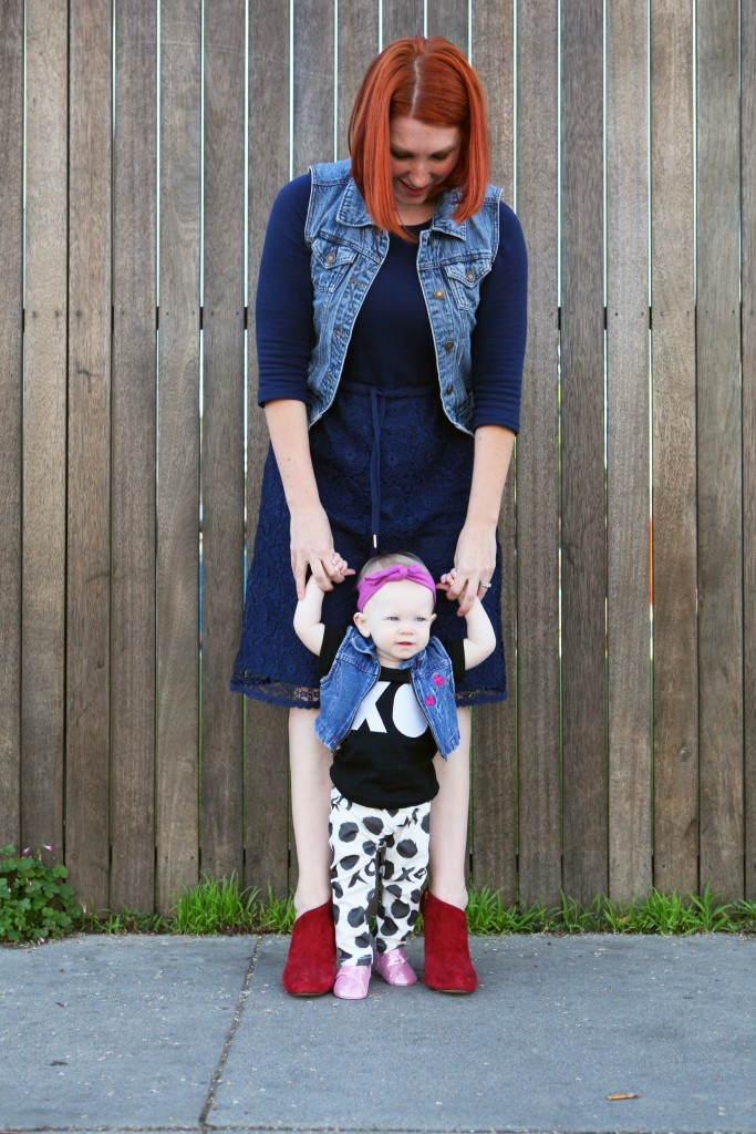 Mama Daughter Style Series Valentines Day Outfit