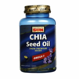 chia seed oil soft gels