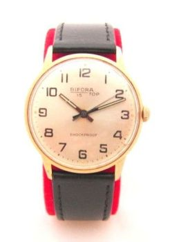 Bifora 15 Top Handaufzug Herrenuhr Made in Germany hand winding men´s watch