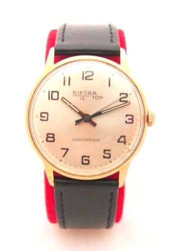 Bifora 15 Top Handaufzug Herrenuhr Made in Germany hand winding men´s watch