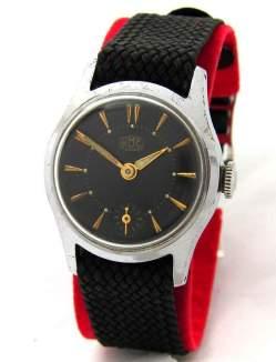UMF Ruhla Germany Herrenuhr kleine Sekunde vintage hand winding mens watch
