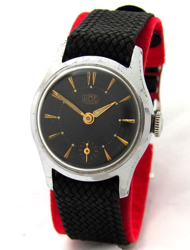 UMF Ruhla Germany Herrenuhr kleine Sekunde vintage hand winding mens watch