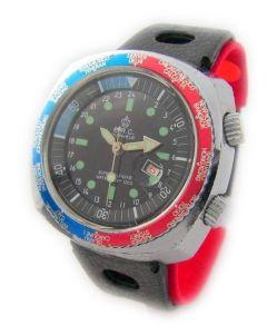 E.R.C. super calendar Vintage Uhr Zeitzonen Uhr classic mechanical mens watch