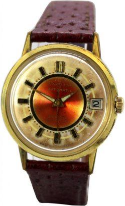Nefina Automatic Herrenuhr mechanisch Datum 30 Steine vintage Uhr