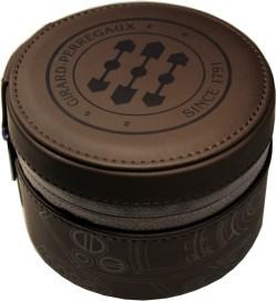 Girard-Perregaux Uhrbox Kunststoff soft case braun Reise und Service Etui