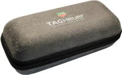 TAG HEUER Uhrbox Textil Kunststoff grau Reise und Service Etui