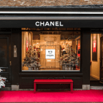 Chanel pop-up store in Amsterdam