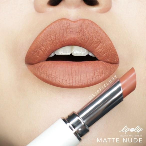 [SWATCH & REVIEW] Lip On Lip by ROHTO Velvet Matteness Lipstick