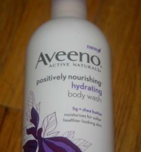 Aveeno positively nourishing hydrating body wash