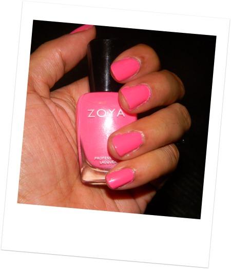 Zoya nail polish lo swatch