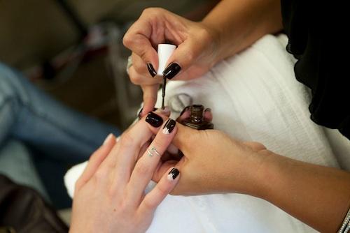 Essie for Pamela Love nail tutorial