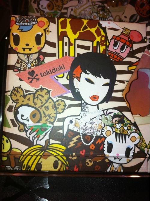 Royal Pride Hercolino Palette: A eye shadow palette decorated with a tokidoki safari print.