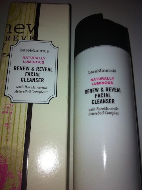 bareMinerals Naturally Luminous Renew & Reveal Facial Cleanser