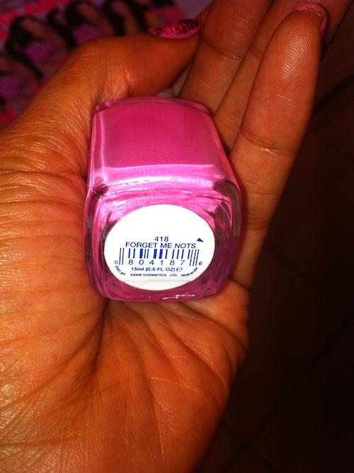 Essie Forget Me Nots nail polish