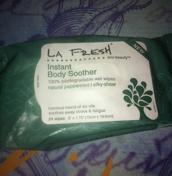 LA FRESH Instant Body Soother Wipes review