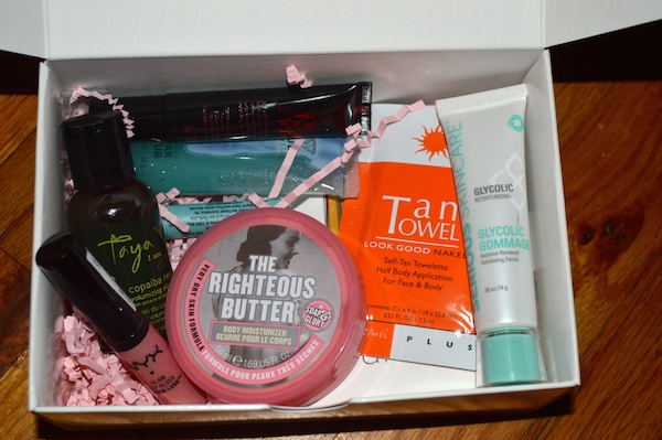 Whats Inside Total Beauty for HSN Beauty Box