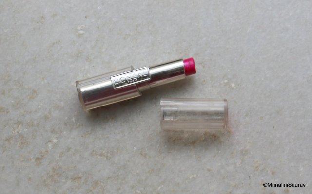 Loreal Paris Rouge Caresse Lipstick Impulsive Fuchsia