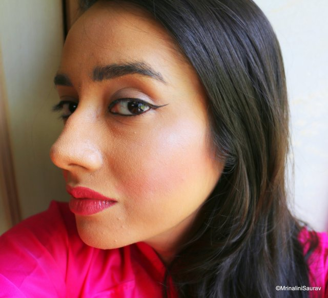 Maybelline Colossal Kajal Deep Black Review Swatches Eyes
