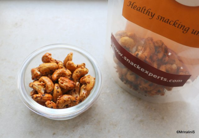 SnackExperts Honey Roasted Cashew Review