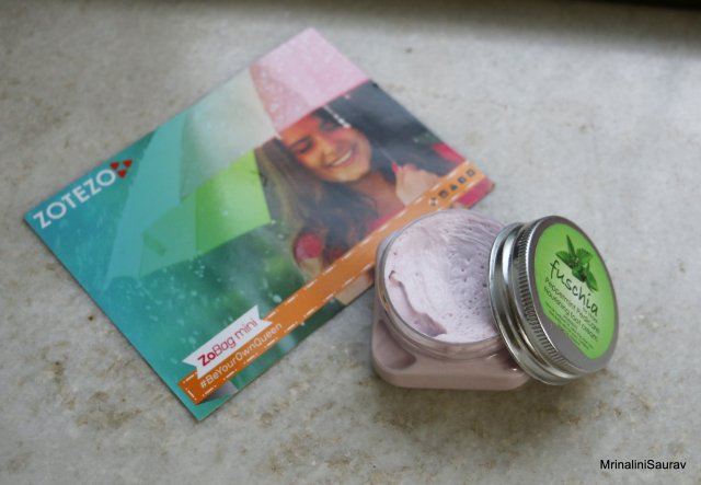 Fuschia Peppermint Pedicure Nourishing Foot Cream Review Zobag