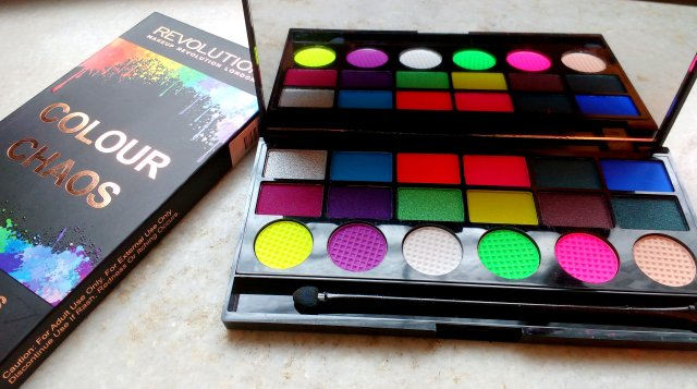 Makeup Revolution Colour Chaos Palette | Review and Swatches