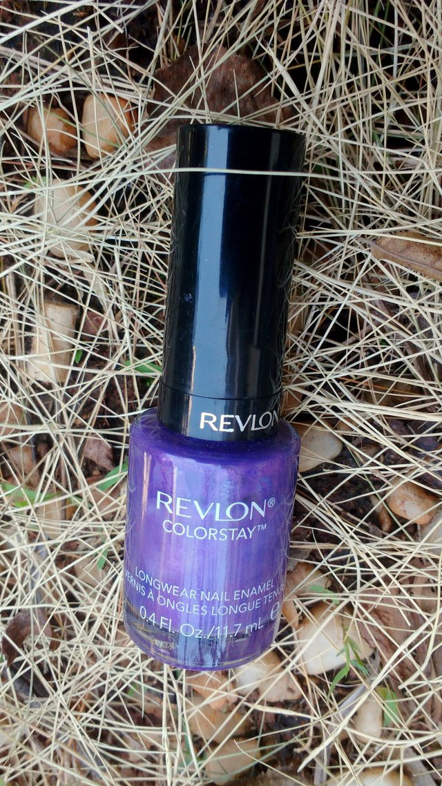 Revlon Colorstay Gel Envy Longwear Nail Enamel - Amethyst | Review and Swatches