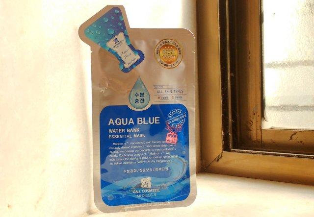 Medicos - V Aqua Blue Water Bank Essential Mask | Review
