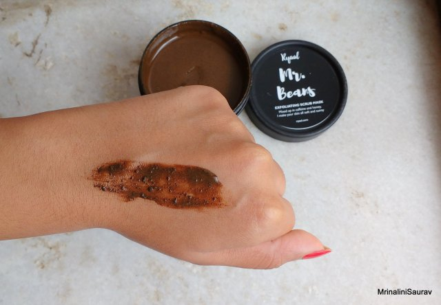 Ryaal Mr. Beans Deep Cleansing & Illuminating Scrub Mask | Review