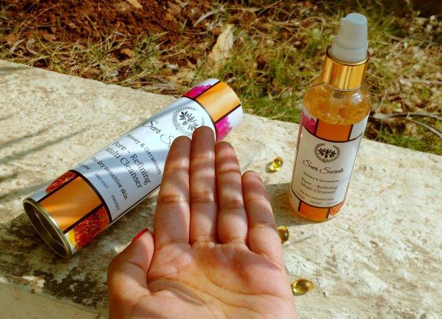 Seer Secrets Honey & Geranium Pore Refining Multi Cleanser | Review