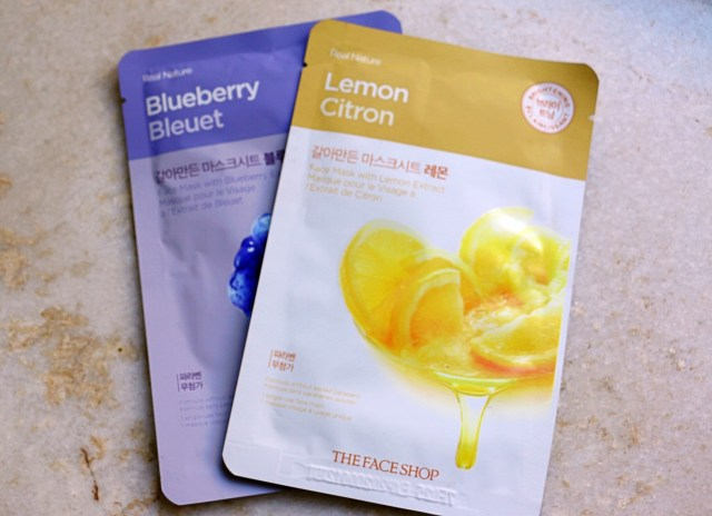 The Face Shop Sheet Masks | Review