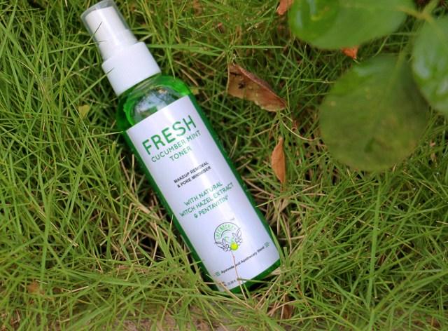 Greenberry Organics Fresh Cucumber Mint Toner | Review