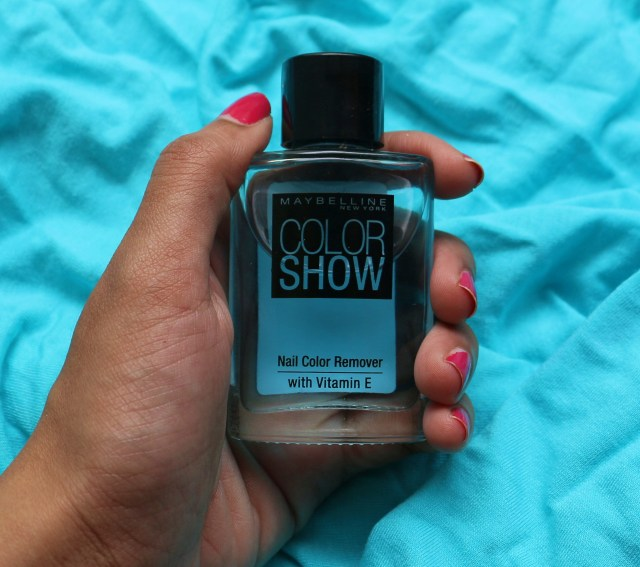 Maybelline Color Show Nail Color Remover | Review