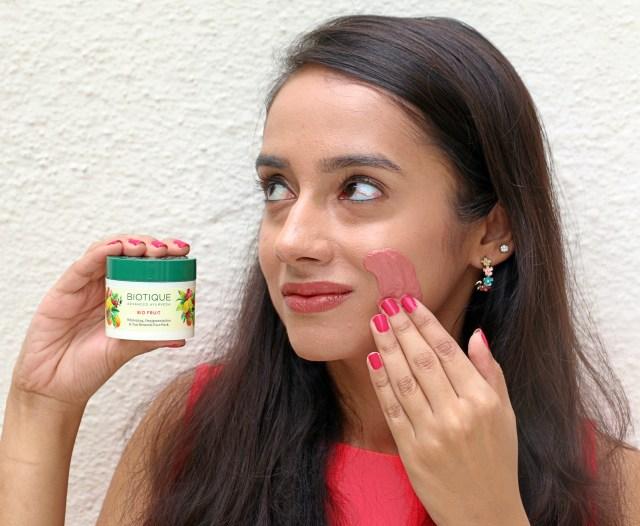 Biotique Bio Fruit Face Pack | Review