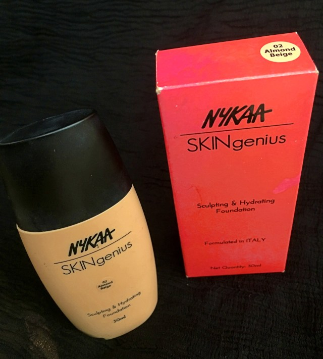 Nykaa Skingenius Sculpting & Hydrating Foundation | Review