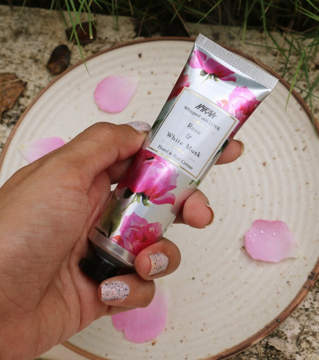Nykaa Rose & White Musk Hand and Nail Creme| Review