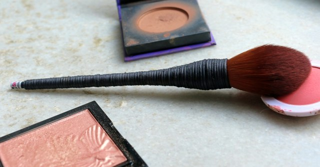 WiseShe Cheek Contour and Powder Brush | Review