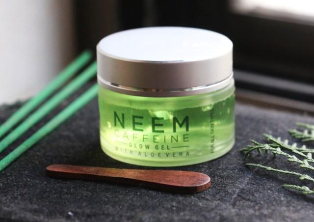 Mcaffeine Neem Caffeine Glow Gel with Aloe Vera | Review