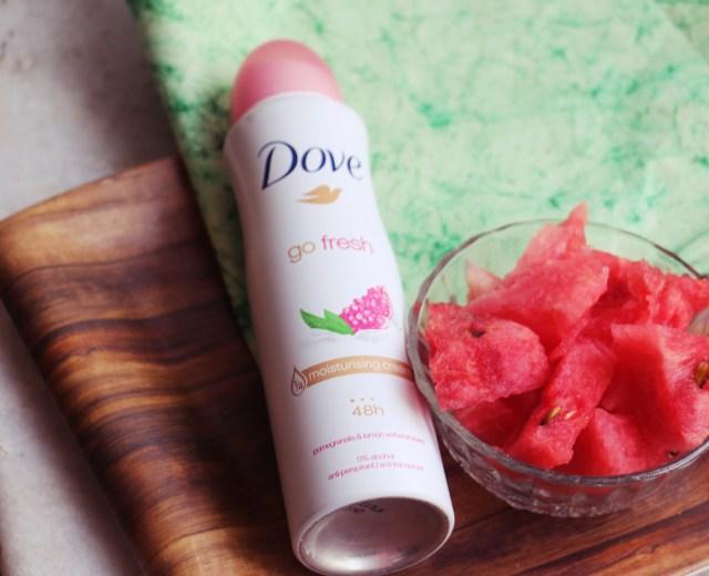 Dove Go Fresh Pomegranate & Lemon Verbena Antiperspirant Spray | Review