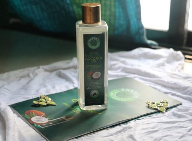 Shesha Naturals Extra Virgin Coconut Oil   Review