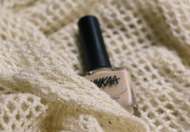 Nykaa Nail Enamel - Caramel Macchiato | Review and Swatches