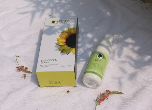 Organic Harvest Sunscreen with SPF 30 | Review