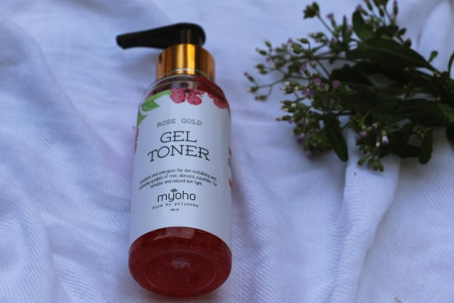 Myoho by Pure by Priyanka Rose Gold Gel Toner