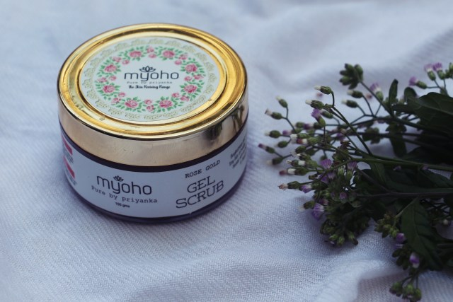 Myoho by Pure by Priyanka Rose Gold Gel Scrub