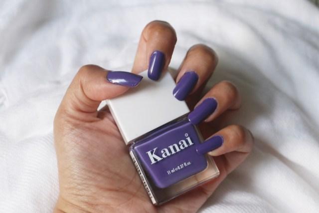 Kanai Organics Non Toxic Nail Paint | Poison Ivy | Review