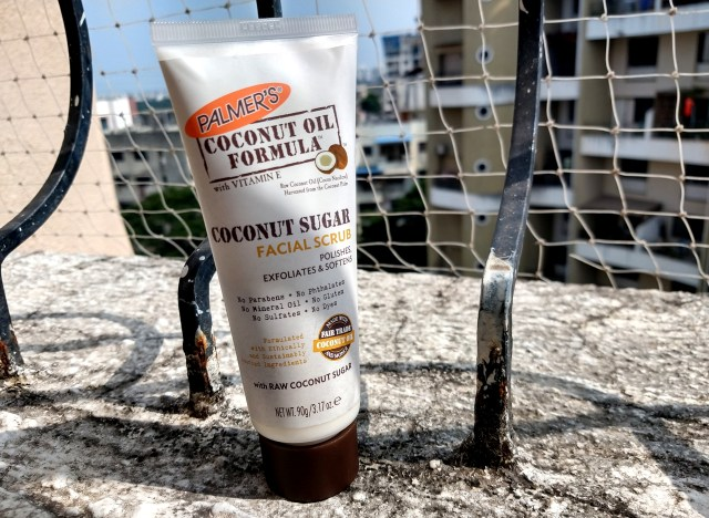 Palmer's Coconut Water Moisturizer and Coconut Sugar Facial Scrub   Review