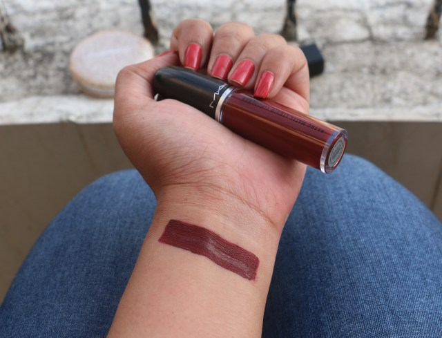 MAC Retro Matte Liquid Lip Colour | Carnivorous Swatches