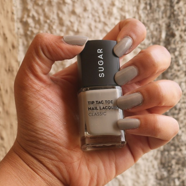Sugar Tip Tac Toe Nail Lacquers | Graduation Grey